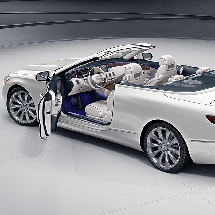 2016 Mercedes-Benz S-Class Convertible Door Open
