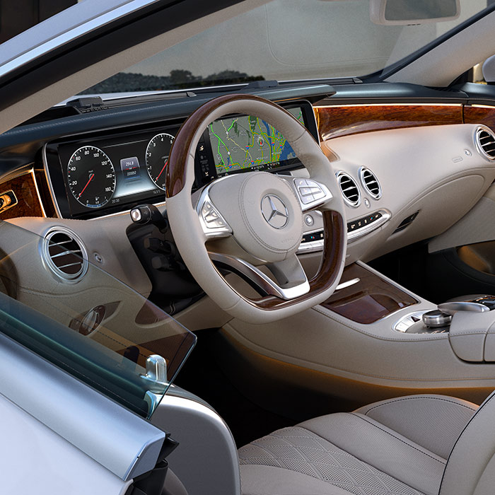 2016 Mercedes-Benz S-Class Convertible Interior