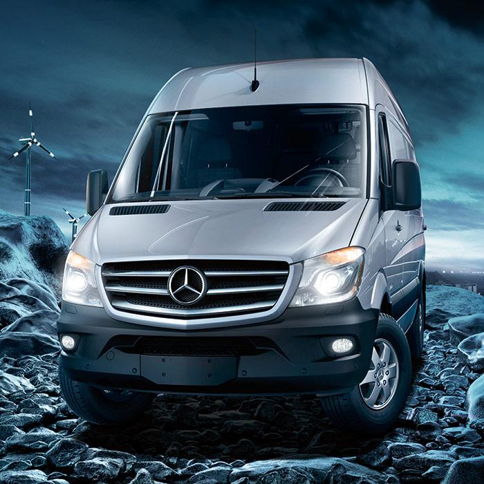 2016 Mercedes-Benz Sprinter Van Front View