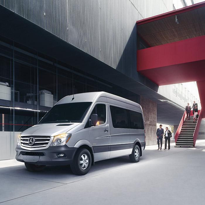 2016 Mercedes-Benz Sprinter Exterior Front Left View