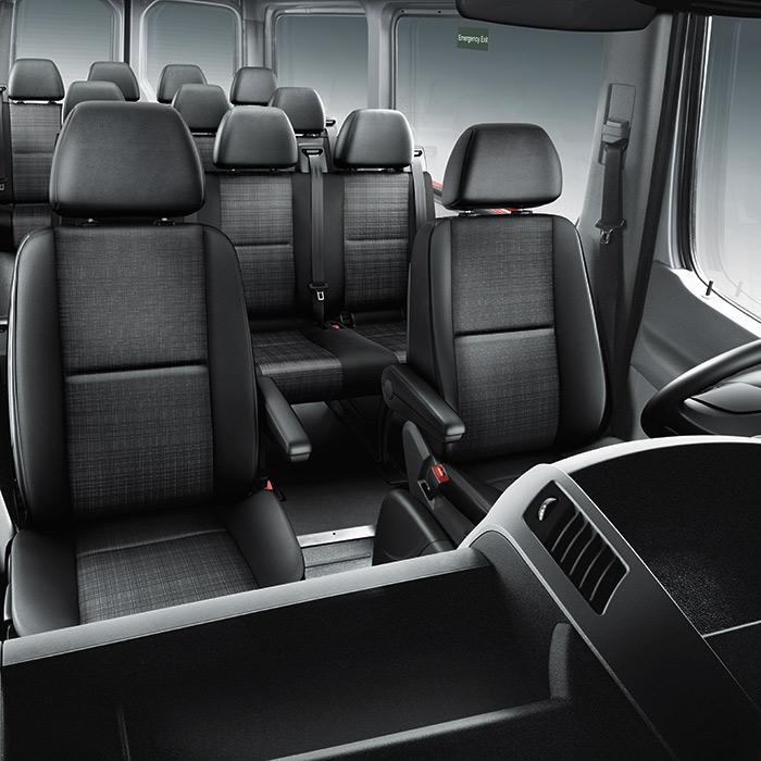 2016 Mercedes-Benz Sprinter Interior Seating