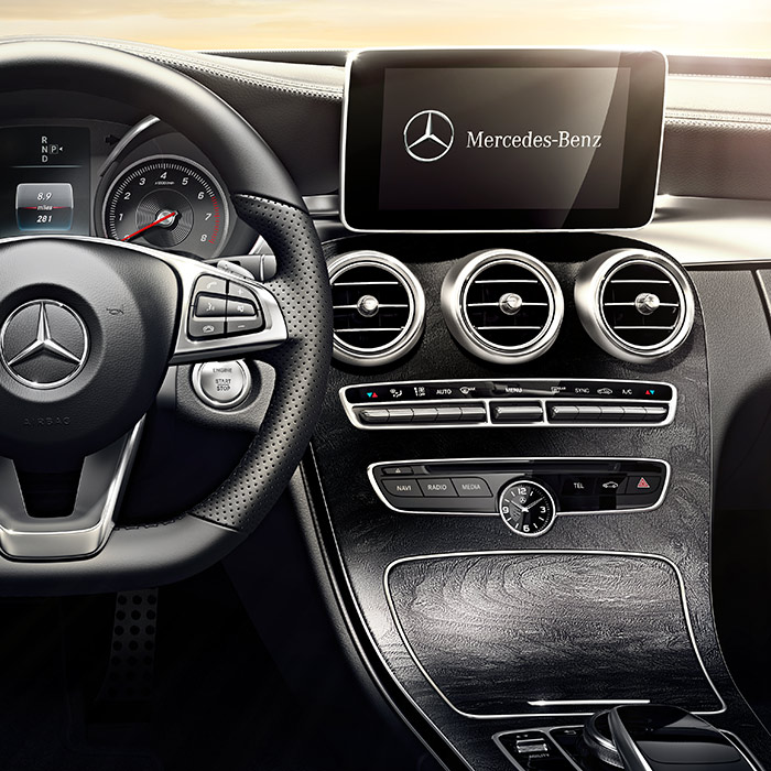 2016 Mercedes-Benz C300 Instrument Panel