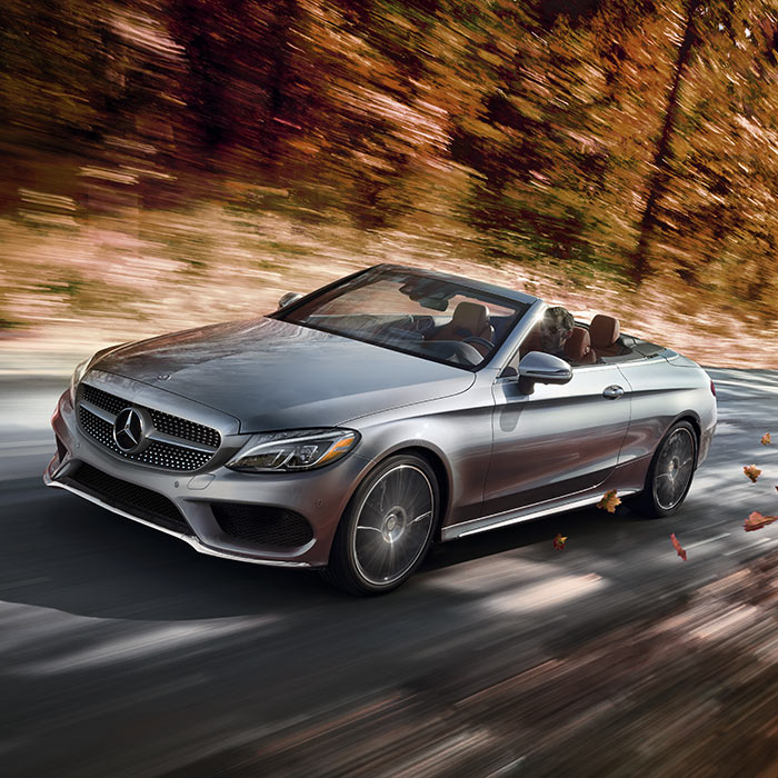 2017 Mercedes-Benz Convertible Exterior Driving