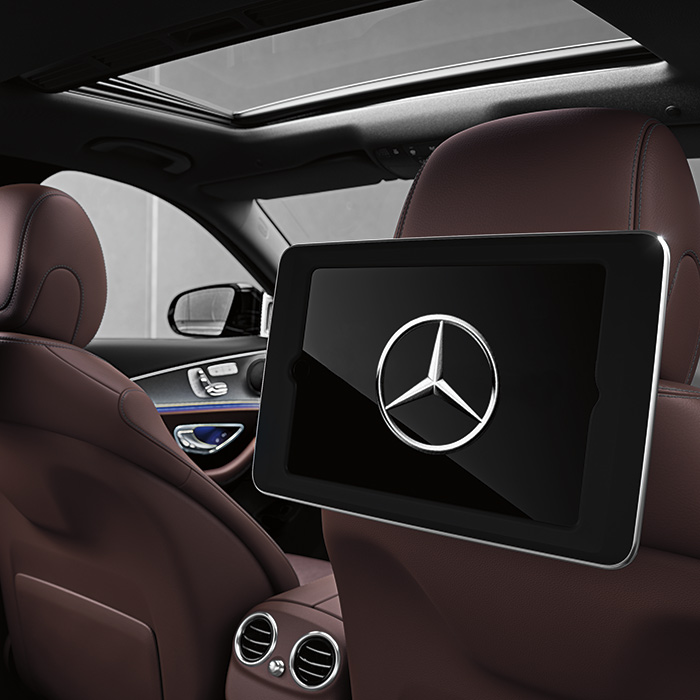 2017 Mercedes-Benz E-Class Interior Infotainment