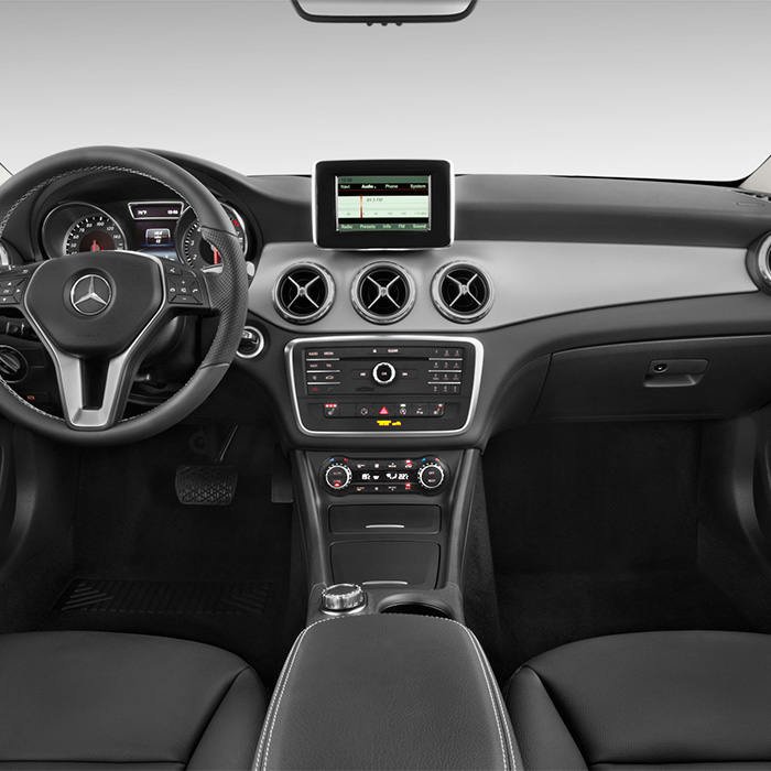 2017 Mercedes-Benz GLA Interior