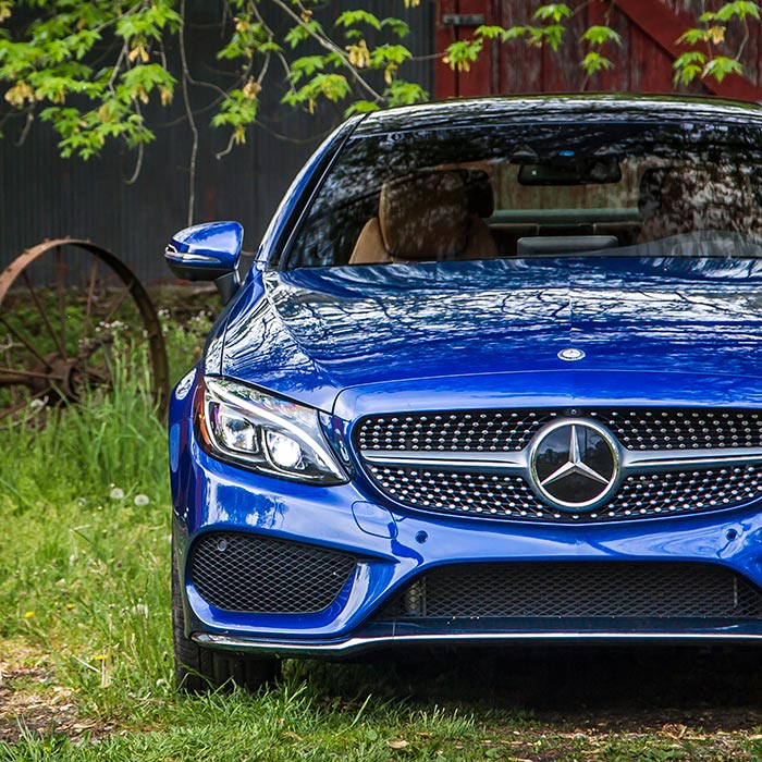 2017 Mercedes-Benz C300 Coupe Front Grille