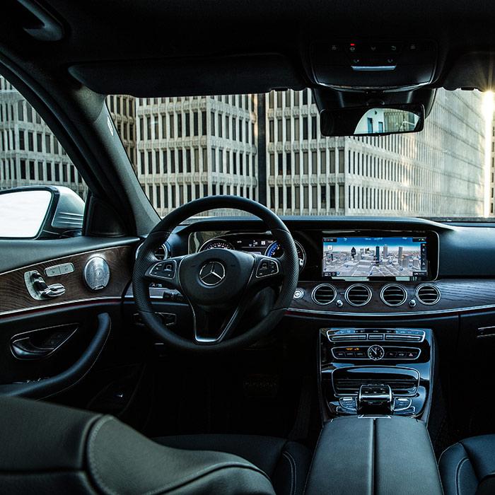 2017 Mercedes-Benz E300 Interior Dashboard