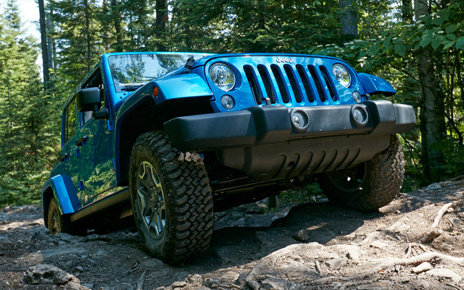 2016 Jeep Wrangler Unlimited Front Exterior