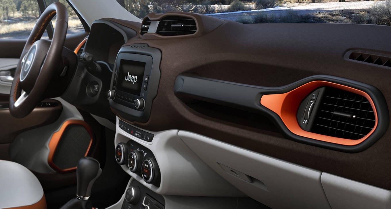2016 Jeep Renegade Interior