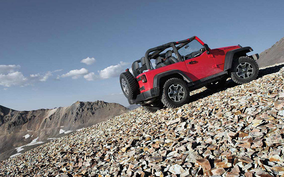 2016 Jeep Wrangler Sideview Exterior