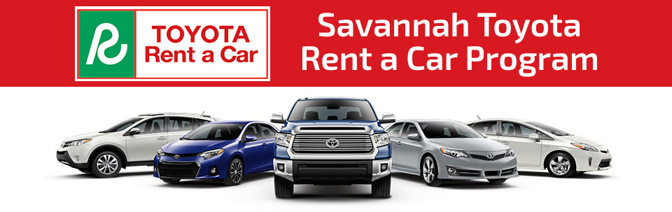 Savannah Toyota Rent a Car Program