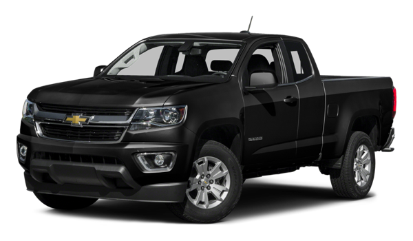 2016 Chevrolet Colorado black exterior