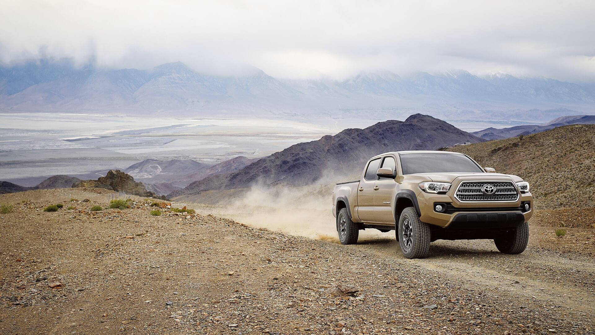 2016 Toyota Tacoma in action
