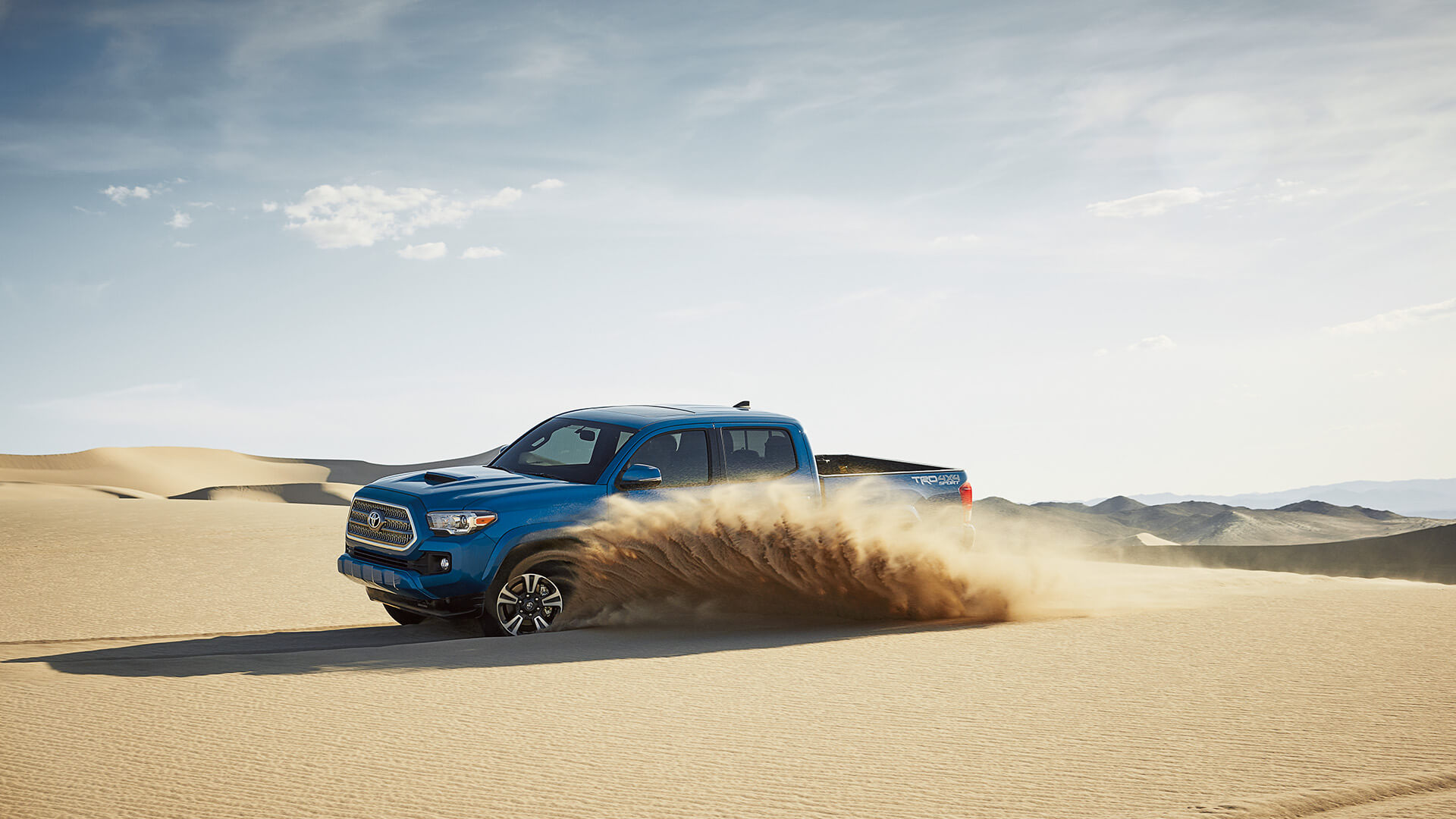 2016 Toyota Tacoma blue exterior model