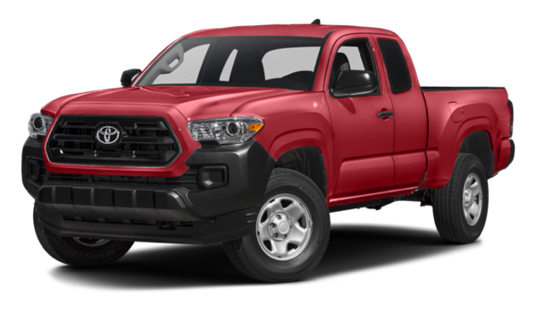 2016 Toyota Tacoma red exterior