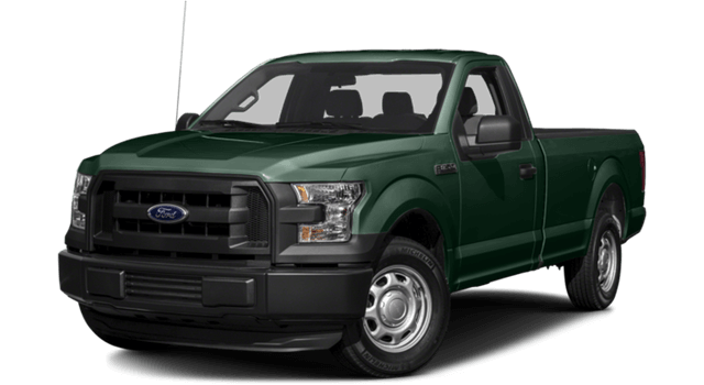 2016 Ford F-150 dark green exterior