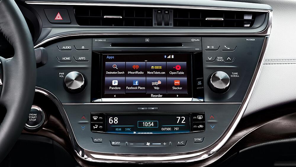 2016 Toyota Avalon Hybrid Touchscreen