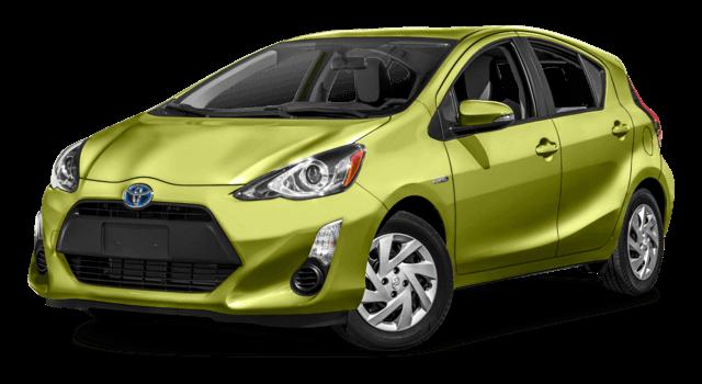 2016 Toyota Prius C bright exterior