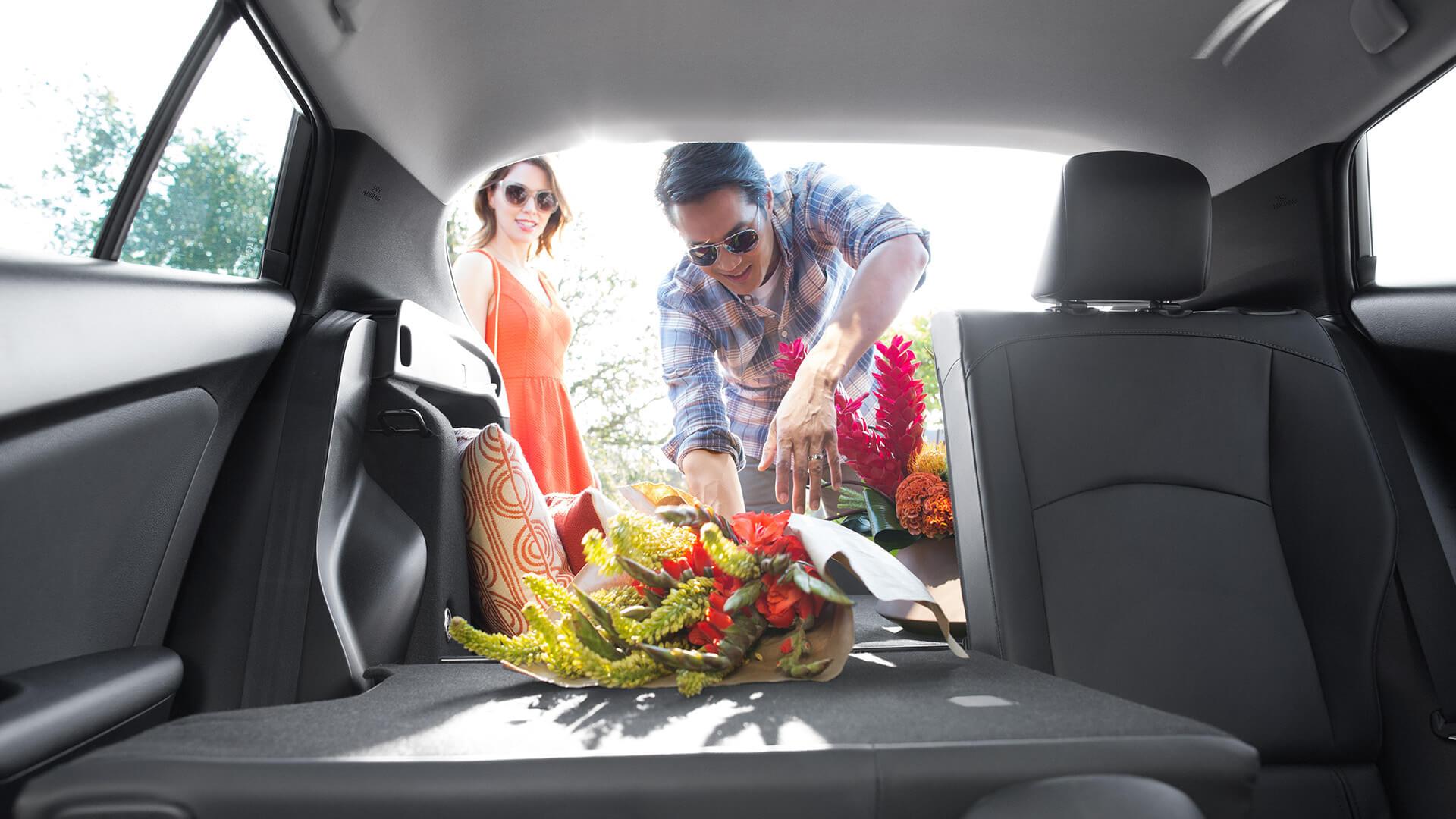 2016 Toyota Prius interior space