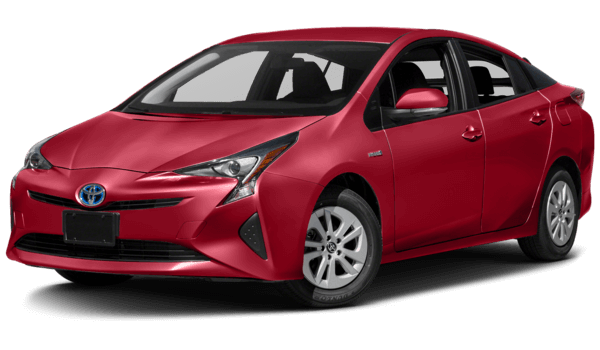 2016 Toyota Prius red exterior model