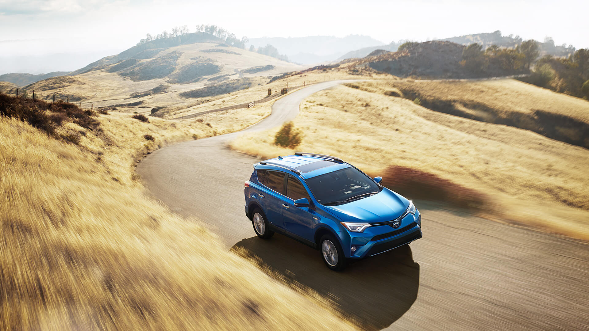 2016 Toyota RAV4 blue exterior model