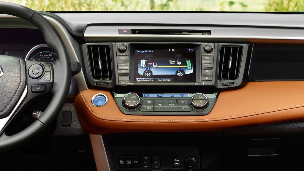 2016 Toyota RAV4 interior technology