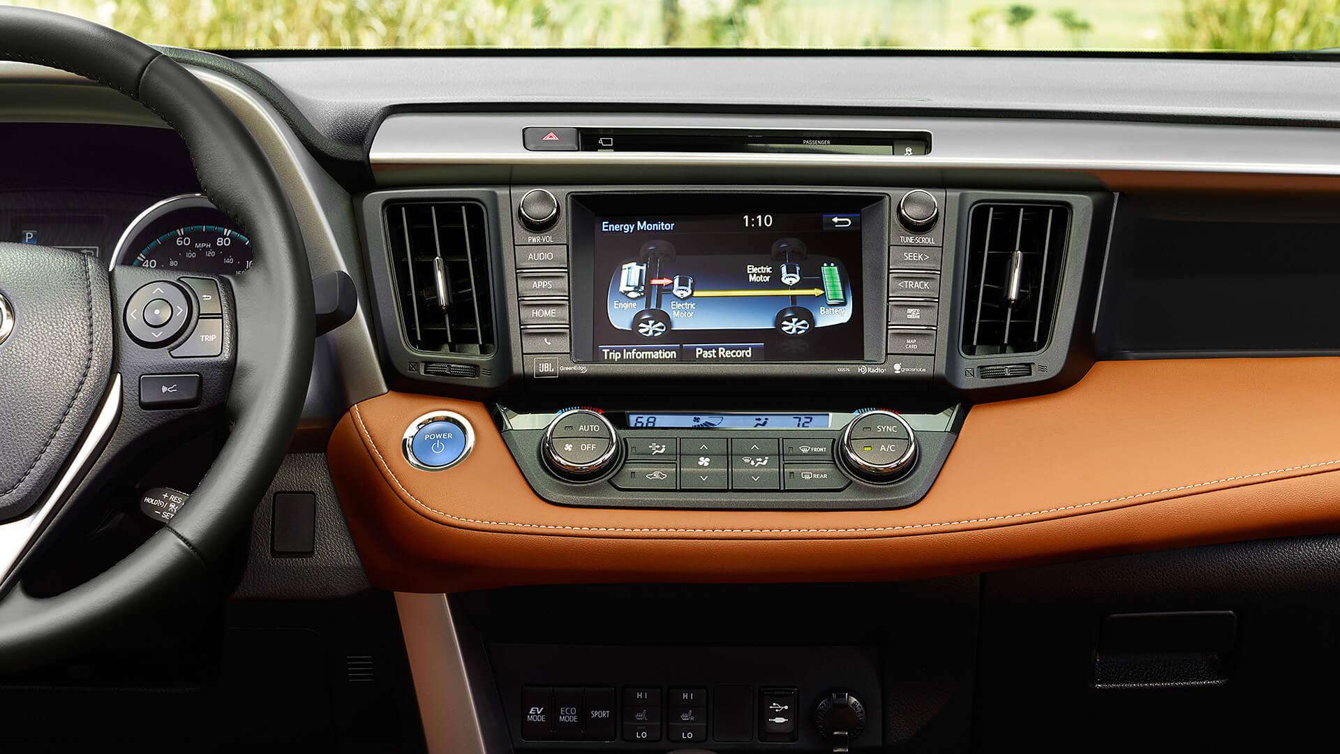 2016 Toyota RAV4 interior technology