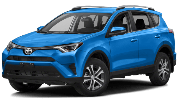2016 Toyota RAV4 blue exterior