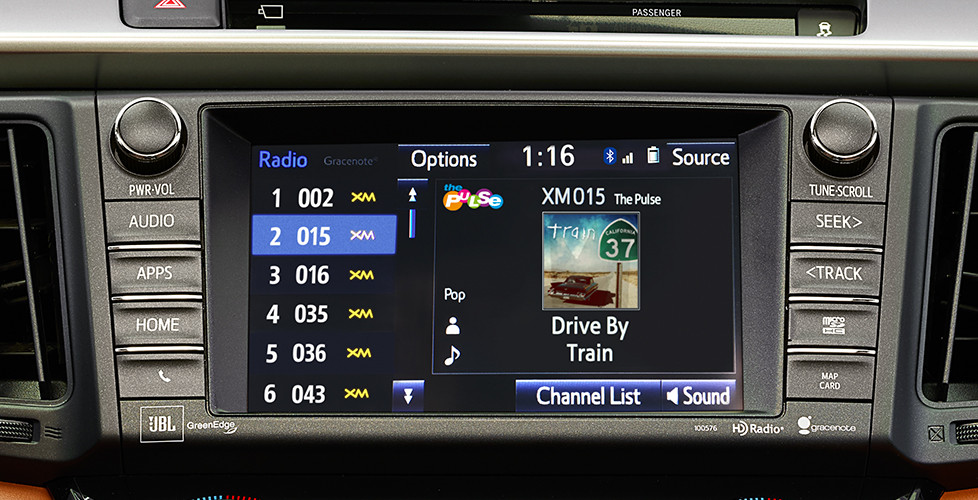 New Toyota Rav4 Features
