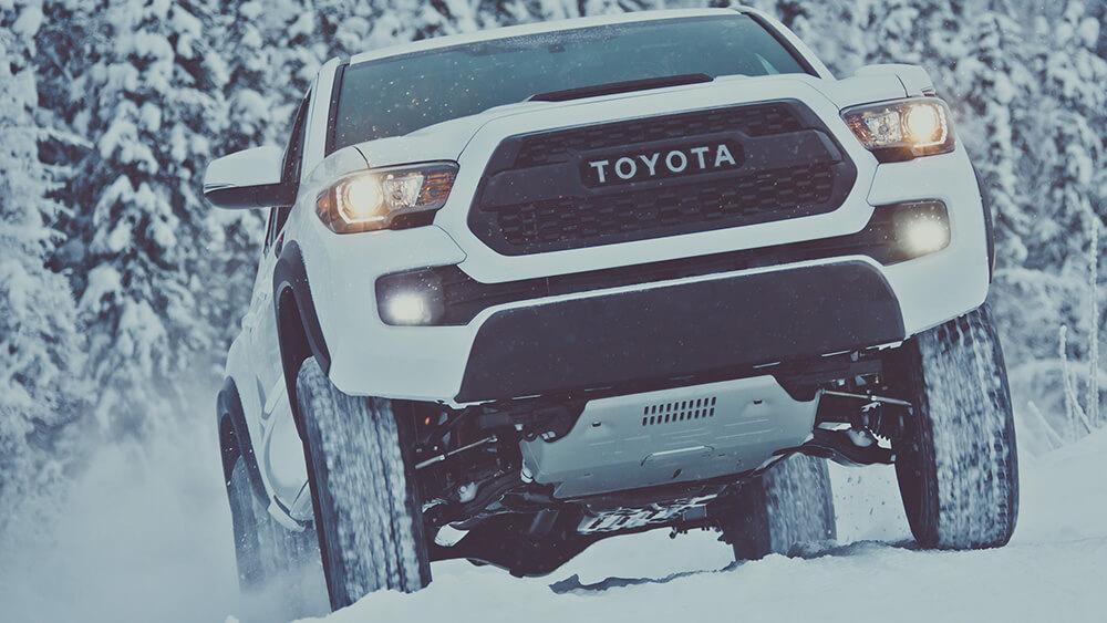 2017 Tacoma TRD Pro Snowy