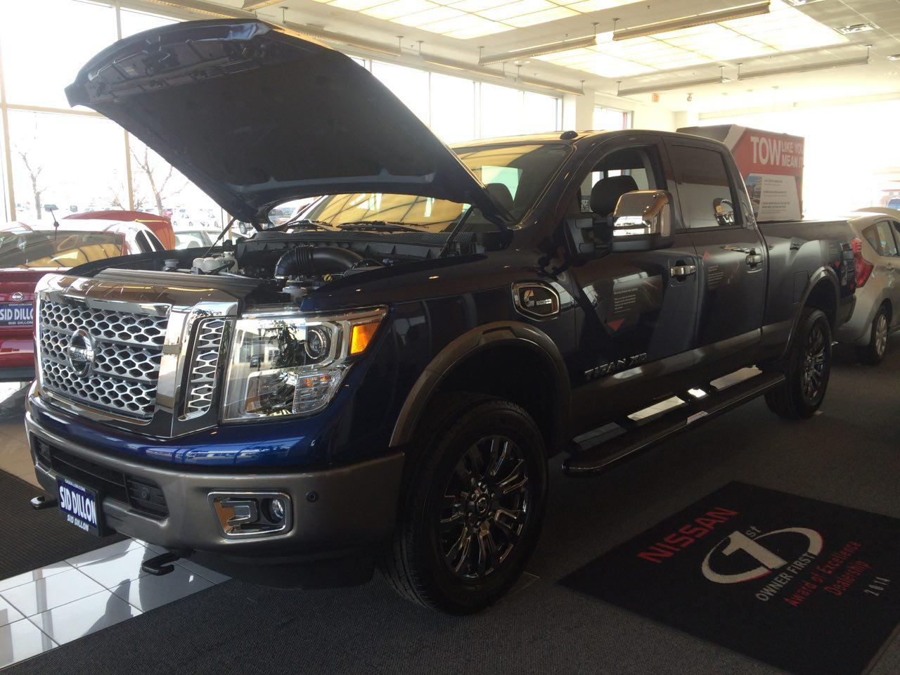 The new half-ton diesel Nissan Titan XD has arrived | Sid Dillon