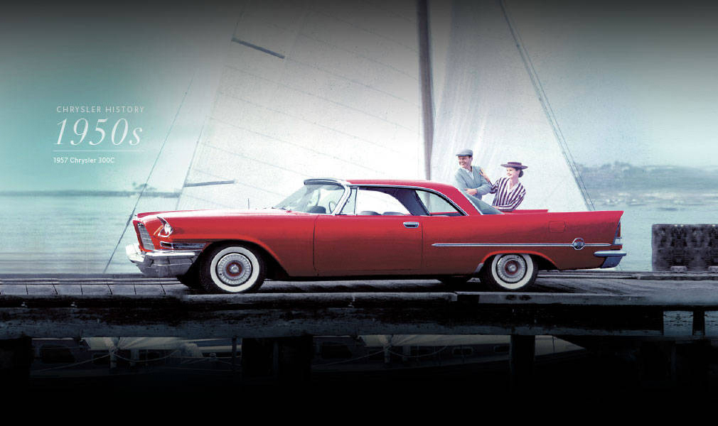 A 1957 Chrysler 300C - The Beautiful Brute - Image Brought To You By Sid Dillon Chrysler Jeep Dodge RAM in Crete Nebraska