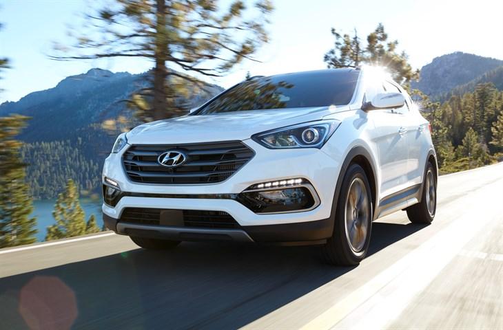 2017 Hyundai Sonata & Santa Fe Sport Recognized By BESTRIDES