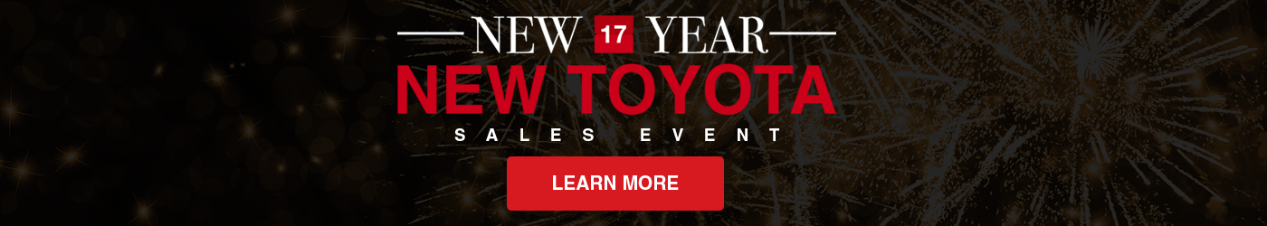 New Year New Toyota