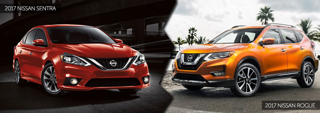 2017 Nissan Sentra and 2017 Nissan Rogue Review | Tischer Auto Group
