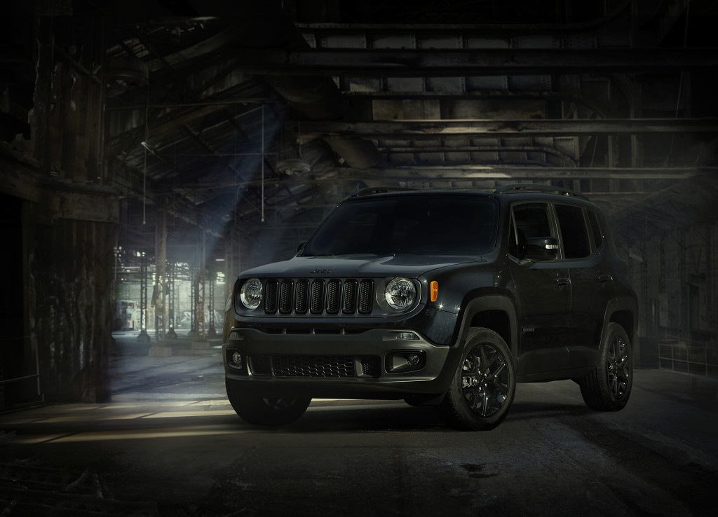 2016 Jeep® Renegade 'Dawn of Justice'  Special Edition.