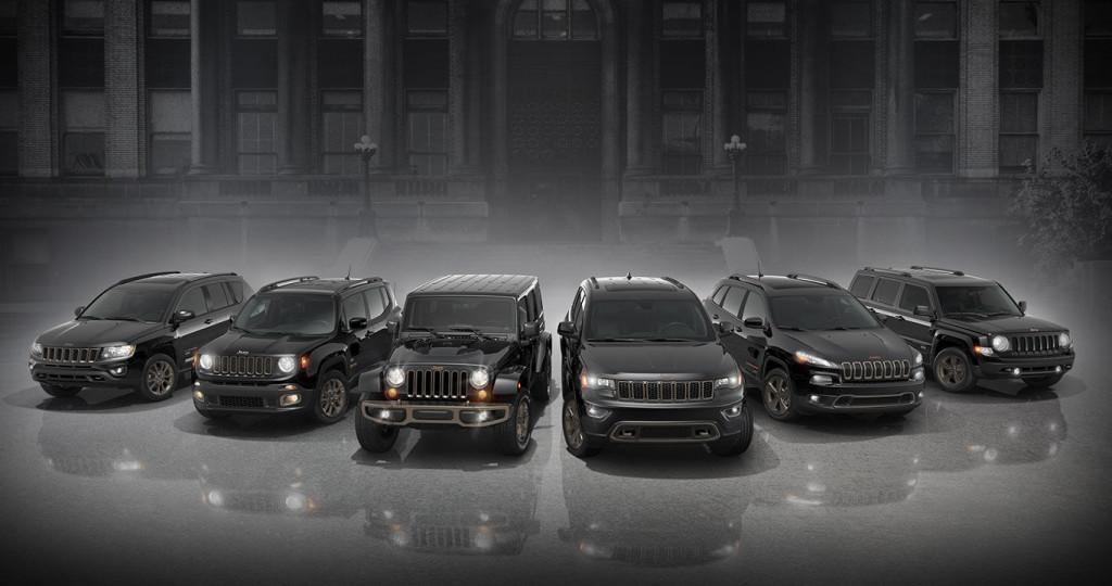 75th Anniversary Jeep Vehicles