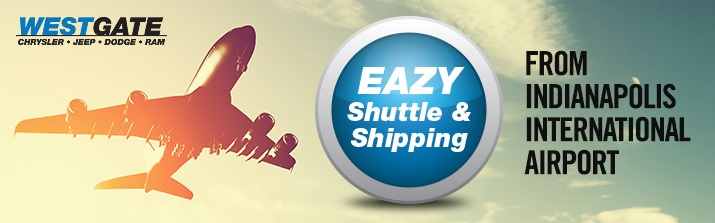 Easy Shuttle & Shipping from Indianapolis Airport