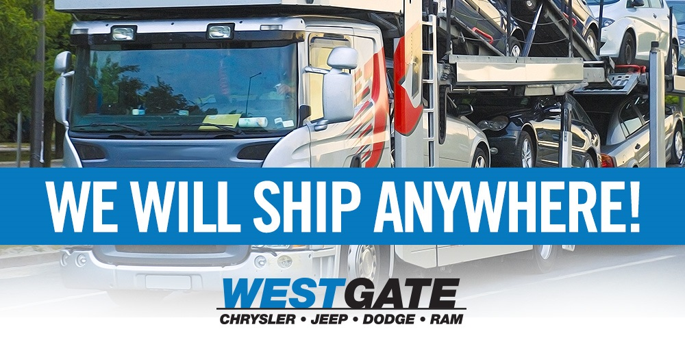 Westgate Auto will ship anywhere in the United States!