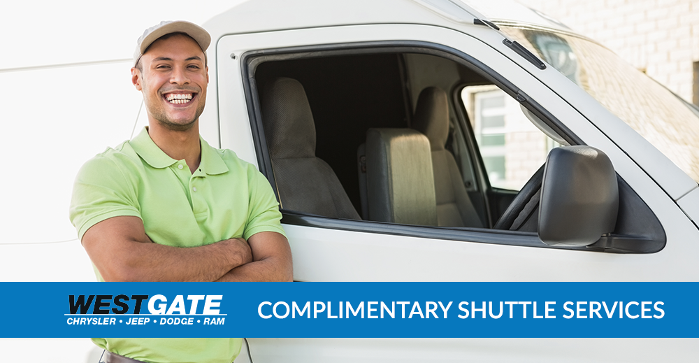 Complimentary Shuttle Services | Westgate Auto