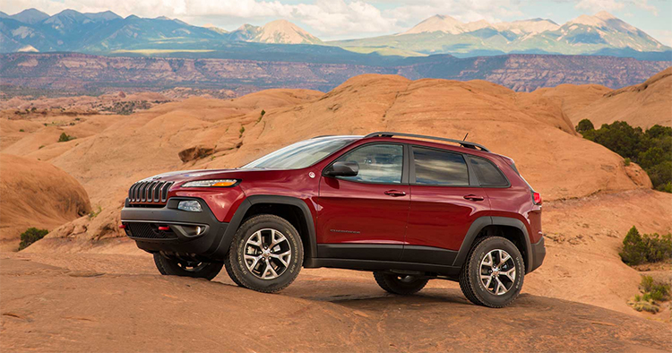 2017 Jeep Cherokee Trim Levels in Plainfield, IN