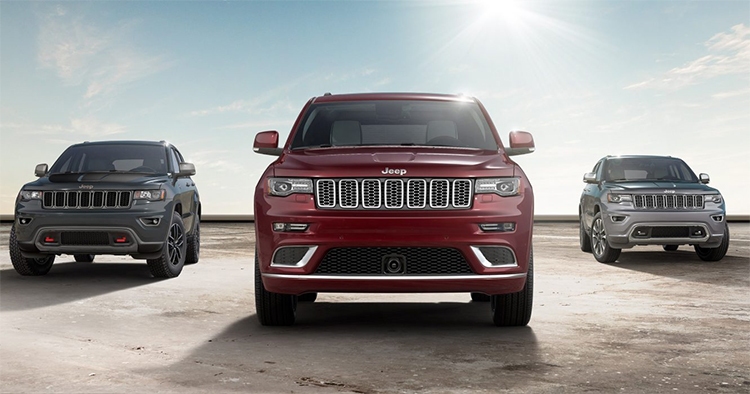 2017 Jeep Grand Cherokee Trim Levels in Plainfield, IN